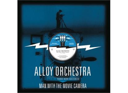 TMR254 Third Man Records  Alloy Orchestra Man With The Movie Camera (2LP)