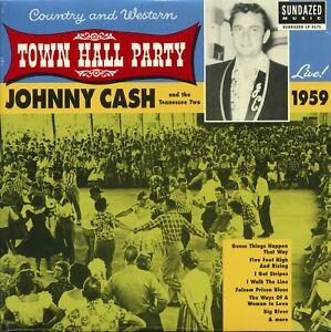 LP5171 Sundazed  Johnny Cash Live At Town Hall Party 1959! (LP)