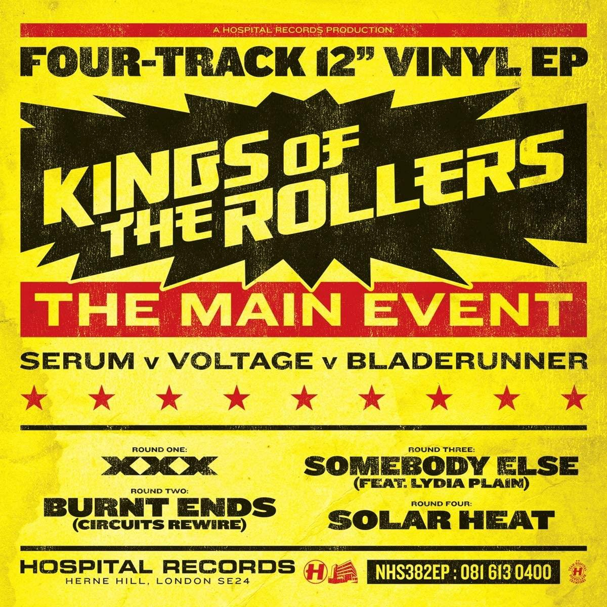"NHS382EP Hospital Records  King Of The Rollers The Main Event (12"")"