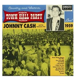 Johnny Cash Live At Town Hall Party 1959! (LP)