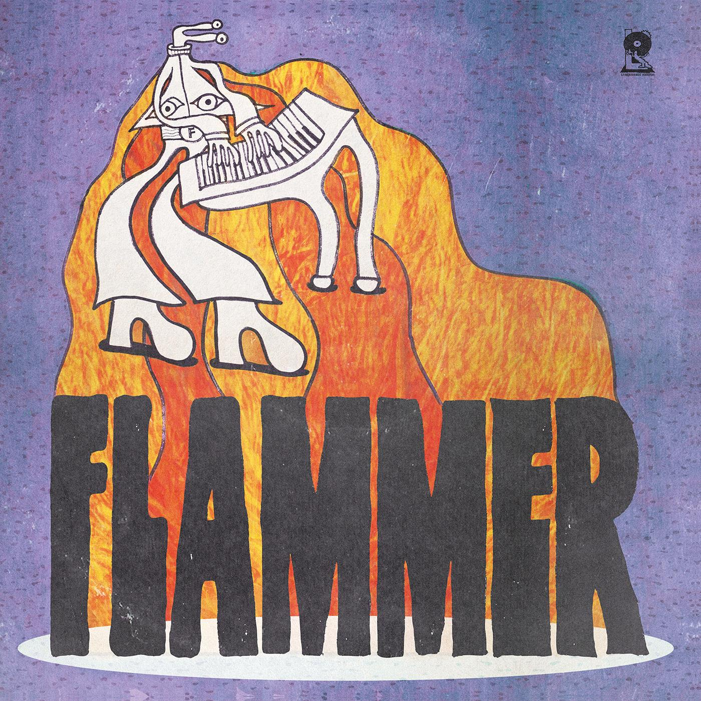 LYSK001 Lyskestrekk Records  Flammer Dance Band Flammer (LP)