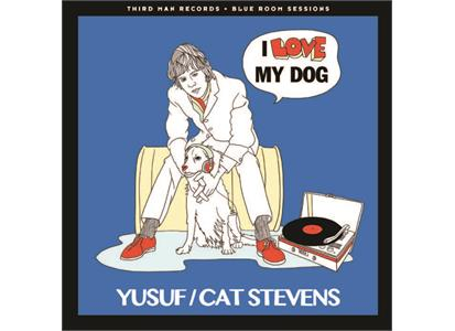 "TMR411 Third Man Records  Yusuf/Cat Stevens I Love My Dog/Matthew & Son (7"")"