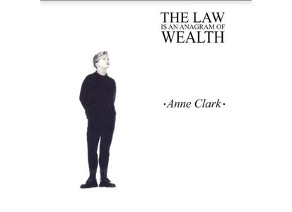 AC0002V FDA Records  Anne Clark The Law Is An Anagram Of Wealth EXP (LP)