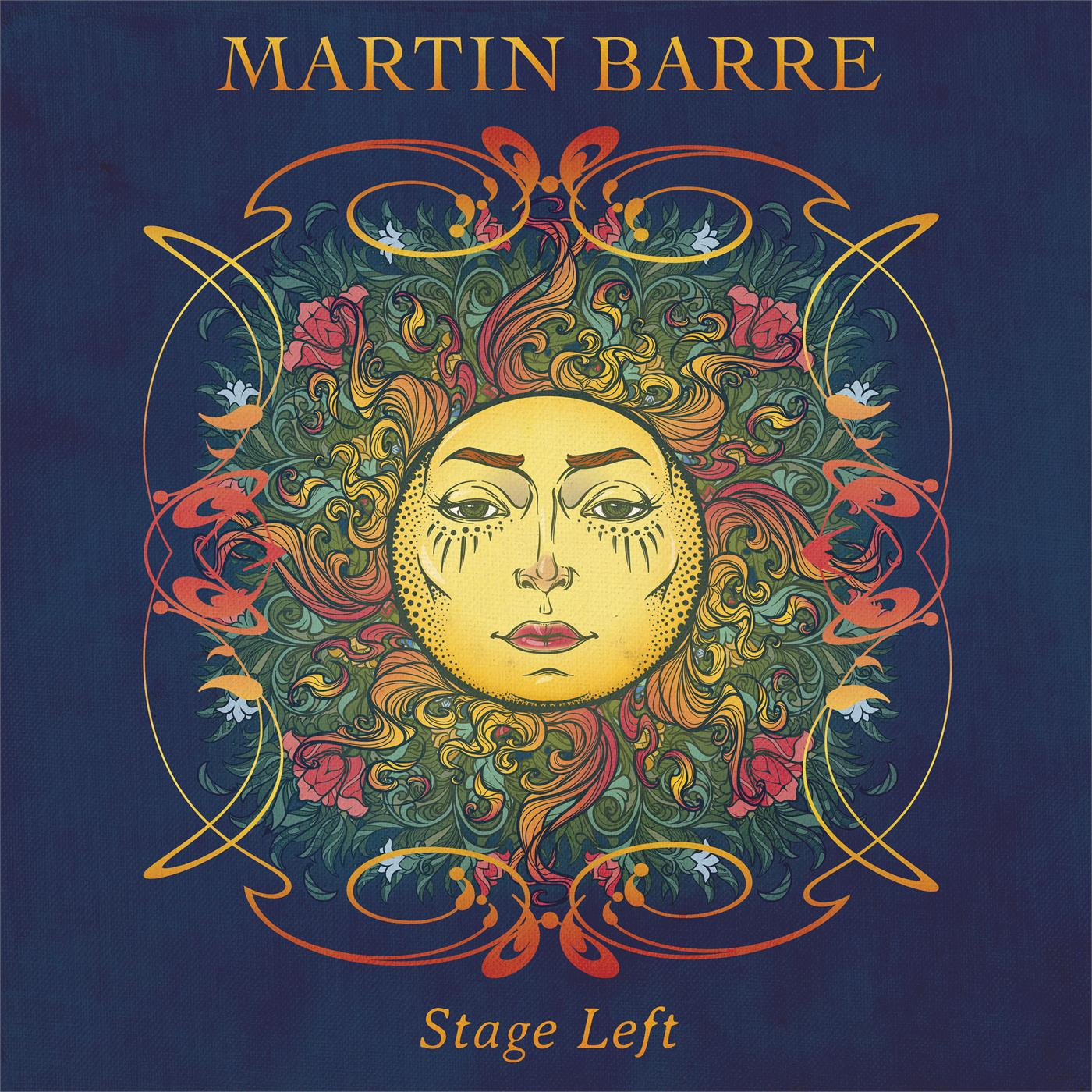 CLOLP1488 Purple Pyramid  Martin Barre Stage Left (LP)