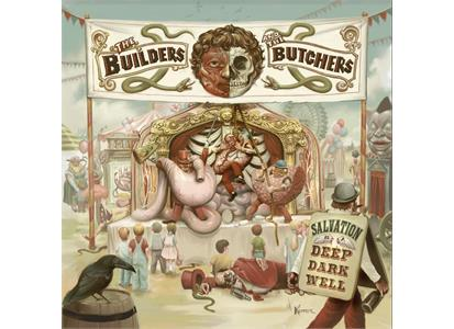 LPJBR0141LE Jealous Butcher  The Builders And The Butchers Salvation Is A Deep Dark Well (LP)