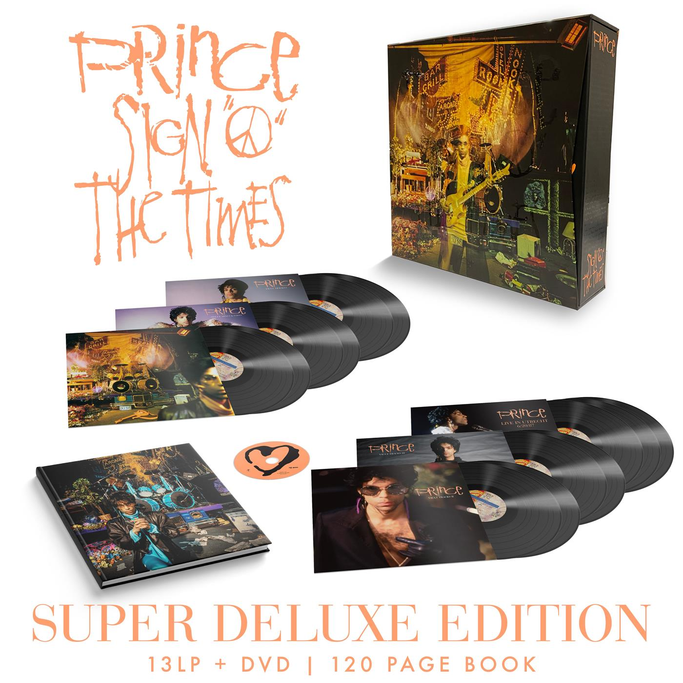 0603497847099 Warner Bros.  Prince Sign O' The Times - Super DLX (13LP+DVD)