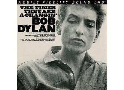 UDSACD 2123 Mobile Fidelity  Bob Dylan The Times They Are A Changin' - LTD (SAC