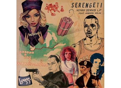 LPABR0131 Anticon  Serengeti The Kenny Dennis LP (LP)