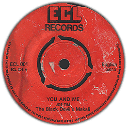 "AFR713 AFRO7  The Black Devil´s Makali You and Me (7"")"