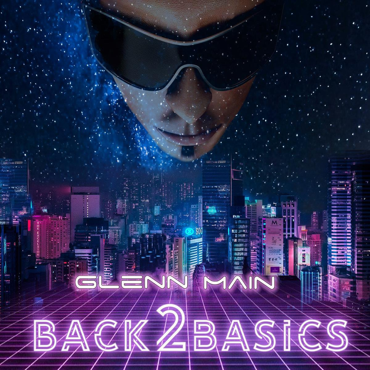 GHM2019-14 G.H. Main Records  Glenn Main Back 2 Basics (LP)