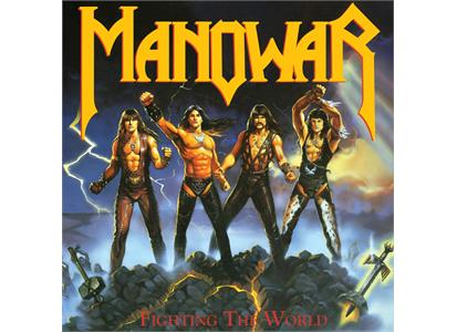 POSH470 Listenable  Manowar Fighting The World (LP)