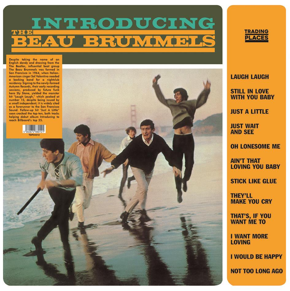 TDP54012 Trading Places  The Beau Brummels Introducing The Beau Brummels (LP)