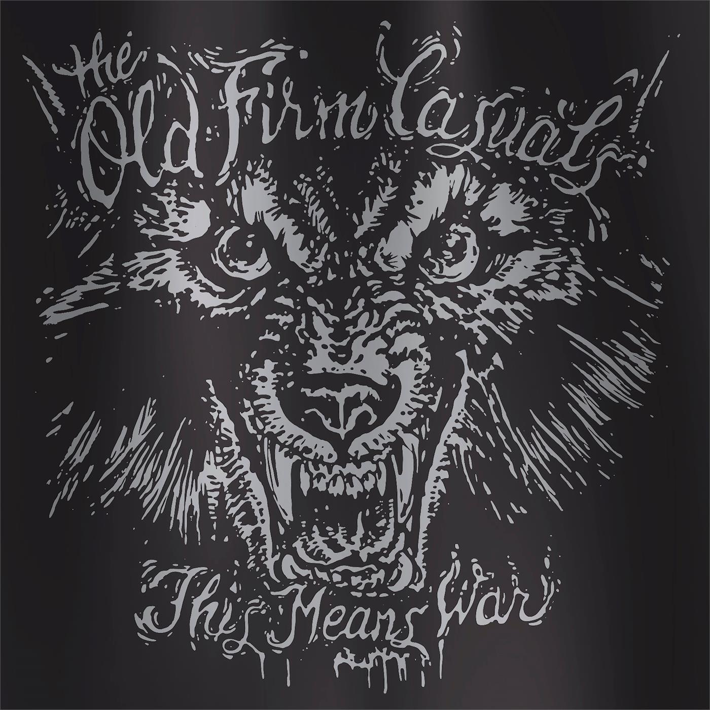PPR257LPB2 Pirates Press  The Old Firm Casuals This Means War - Wolf Version (LP)