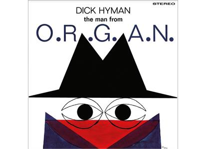 PFM101 Pleasure For Music  Dick Hyman The Man From O.R.G.A.N. (LP)