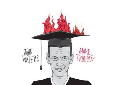 "TMR517 Third Man Records  John Waters Making Trouble (7"")"