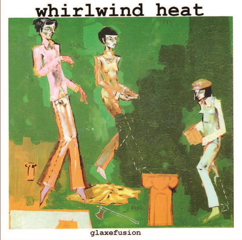 "TMR493 Third Man Records  Whirlwind Heat Glaxefusion EP (7"")"