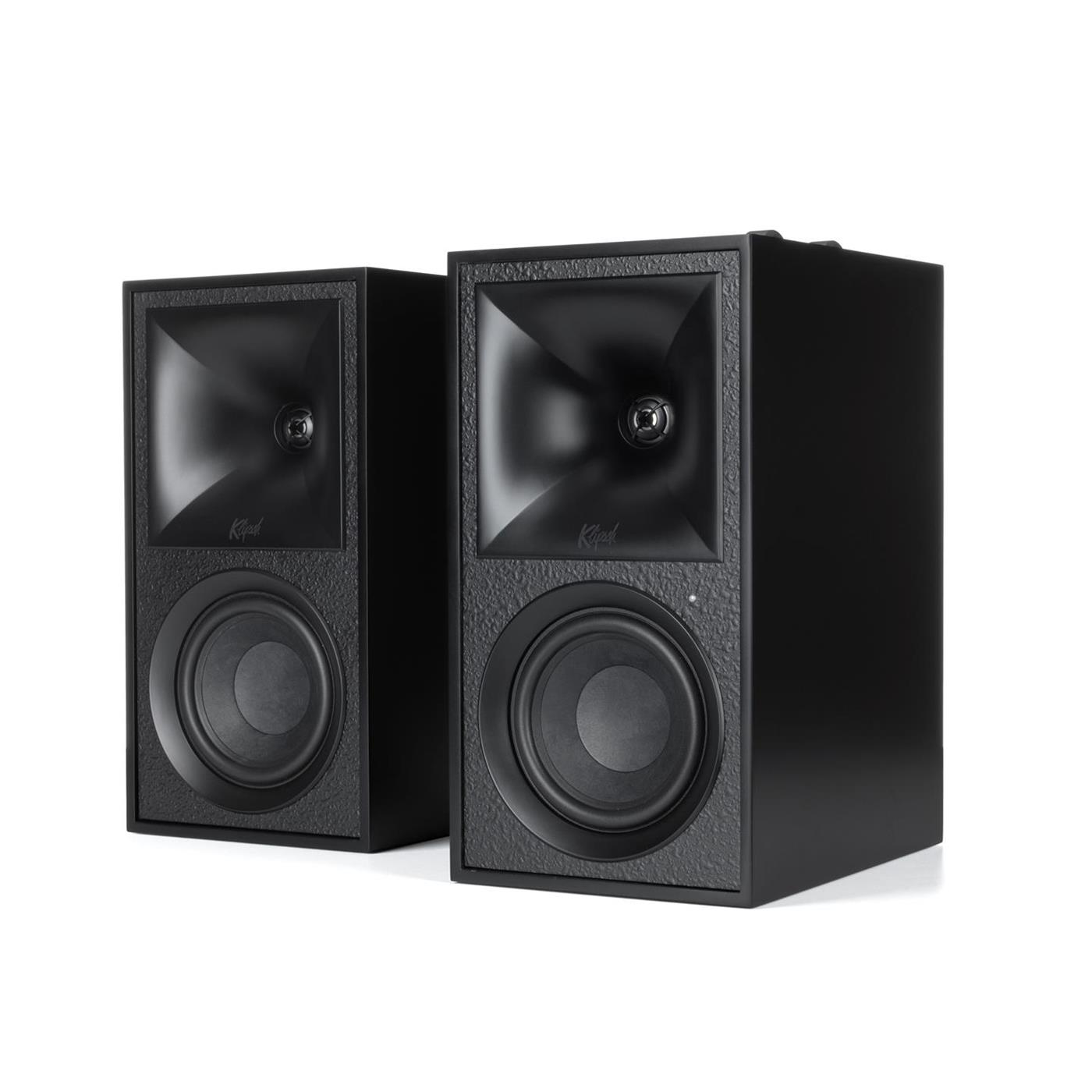 1068026 Klipsch  Klipsch The Fives, Matte Black Aktive høyttalere, Bluetooth, HDMI, par