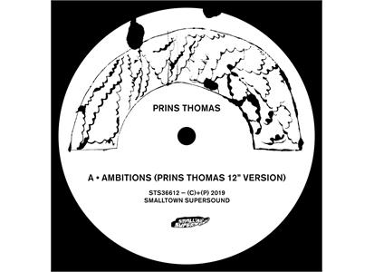 "STS366LP Smalltown Supersound  Prins Thomas Ambitions Remixes I (12"")"