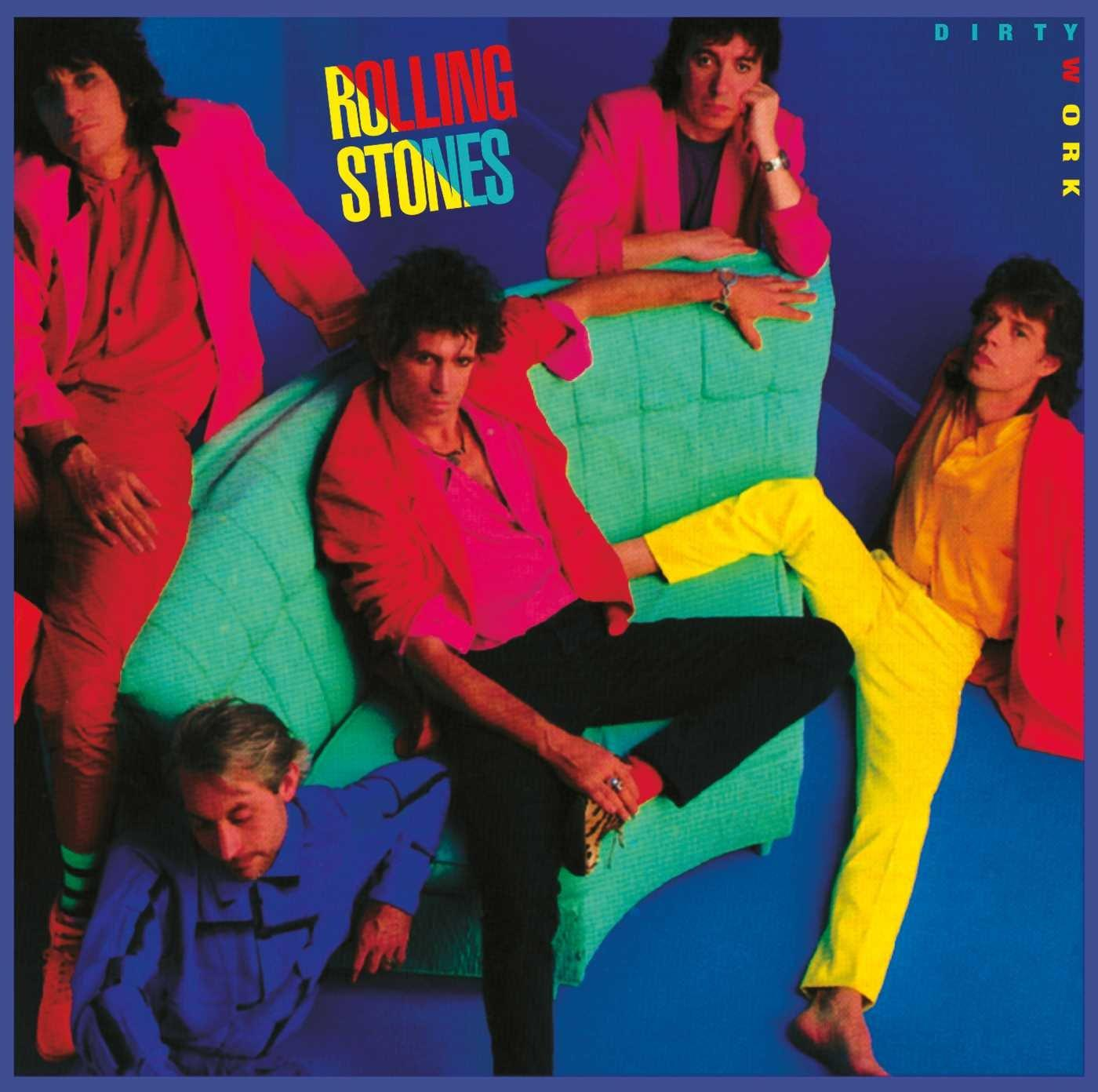 0602508773280 Polydor UK  The Rolling Stones Dirty Work - Half Speed Mastered (LP)