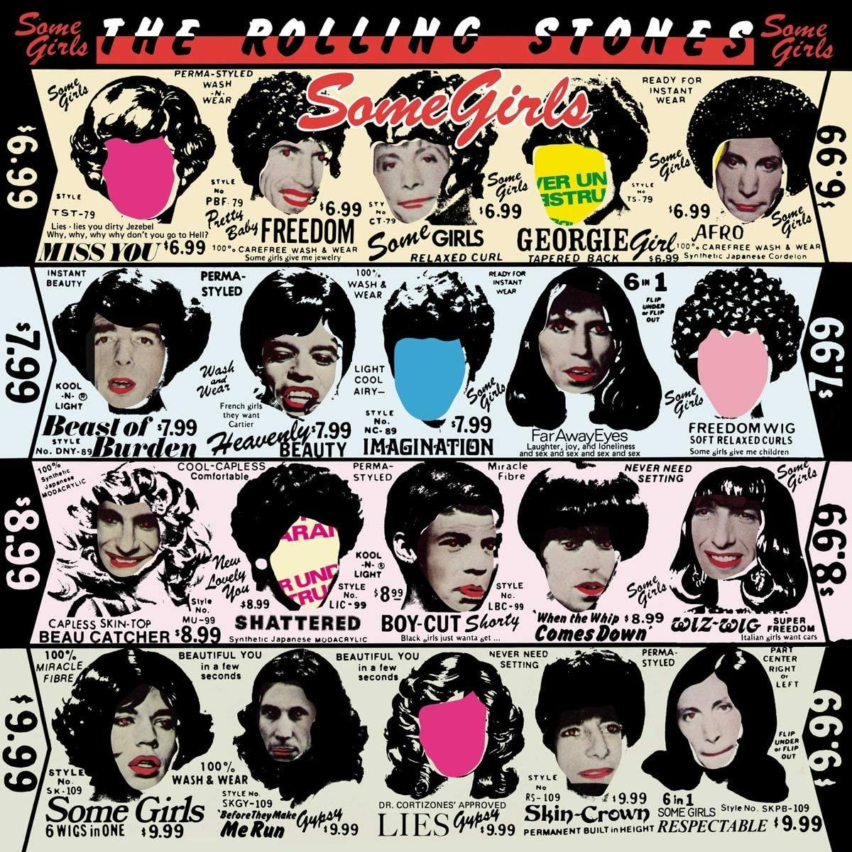 0602508773242 Polydor UK  The Rolling Stones Some Girls - Half Speed Mastered (LP)