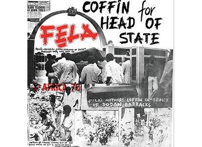 KFR2036-1 Knitting Factory  Fela Kuti Coffin For Head Of State (LP)
