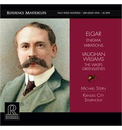 Michael Stern/Kansas City Symphony Elgar: Enigma Variations... - (2LP)