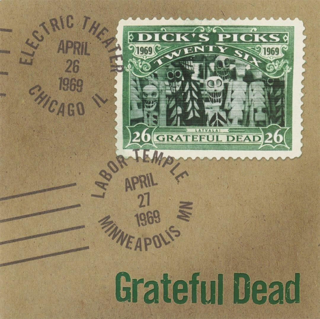 RGMLP1067 Real Gone Music  Grateful Dead Dick's Picks Vol. 26 - LTD (4LP)