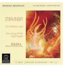 Eiji Oue/Minnesota Orchestra Stravinsky: The Firebird Suite... (LP)