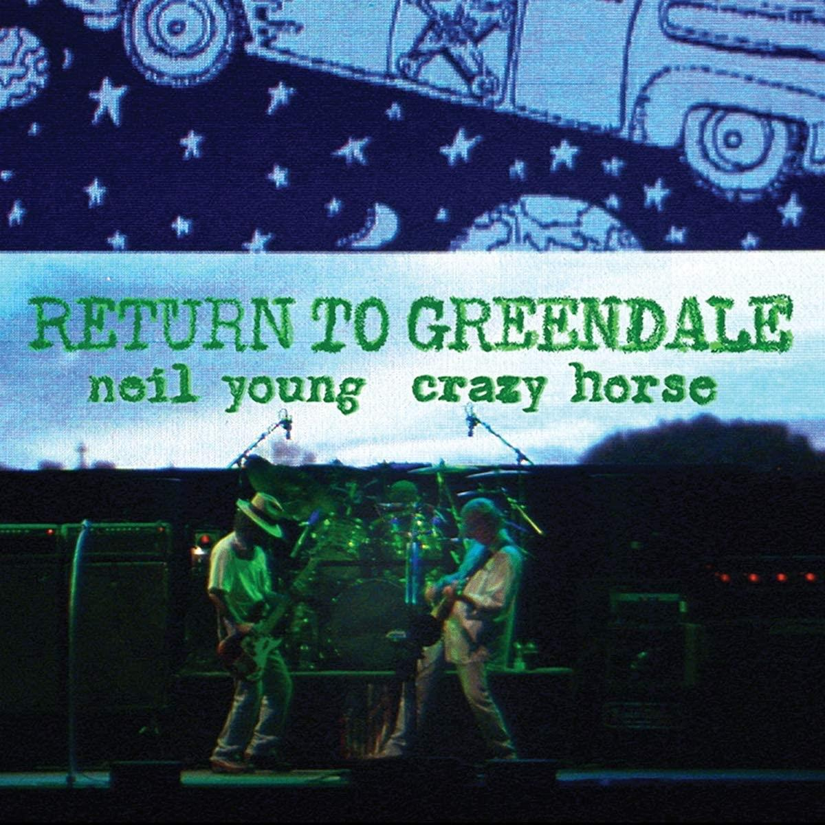 0093624893868 Reprise  Neil Young & Crazy Horse Return To Greendale (2LP)