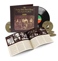 Crosby, Stills, Nash & Young Deja Vu - 50th Anniversary (LP+4CD)