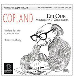 Eiji Oue/Minnesota Orchestra Copland: Fanfare For The Common Man (LP)