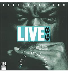Luther Allison Live 89 (2LP)