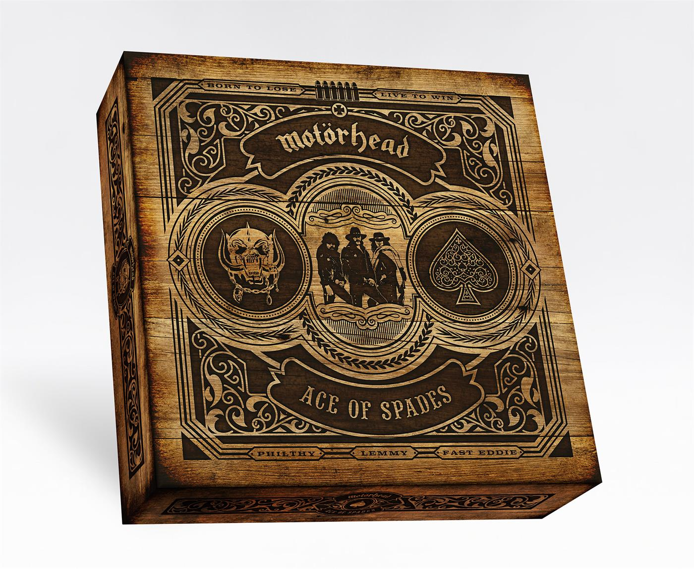 "4050538587142 BMG Rights Management  Motörhead Ace Of Spades - Box Set (7LP+10""+DVD)"