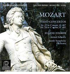 Eugene Istomin/Gerard Schwarz/Seattle SO Mozart: Piano Concertos No 21 & 24 (2LP)