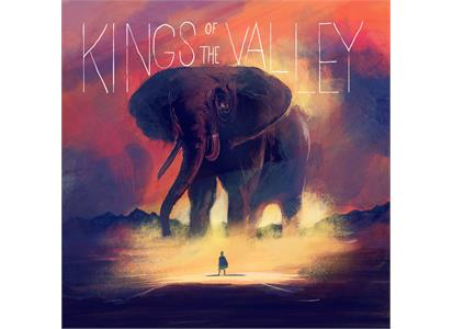 WSR021 Wonderful & Strange Records  Kings Of The Valley Kings Of The Valley (LP)